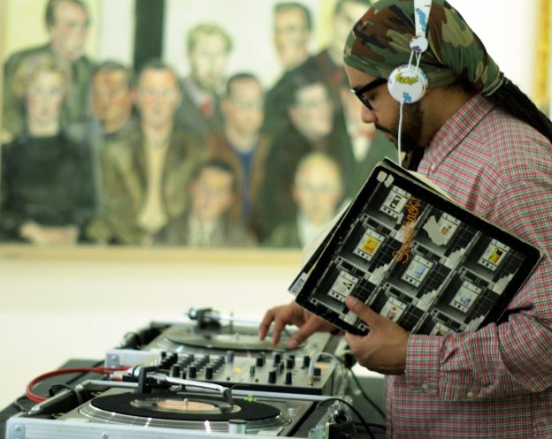 DJ Eddie Otchere at Late Shift